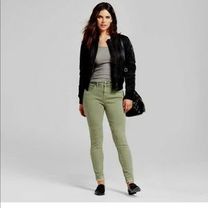 Mossimo Supply Co. Jeans - Olive green stretchy jeans